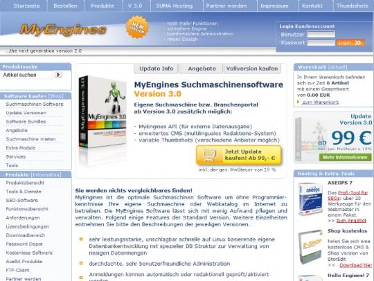 anforderungen an homepage